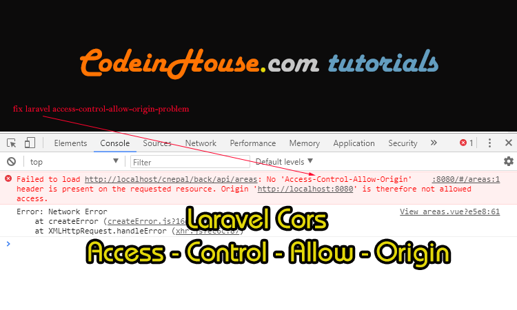 Is Laravel Cors Not Working ? Learn How to fix access